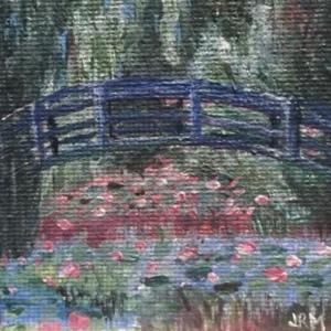 Monet's Footbridge - for sale $50