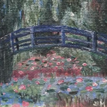 Monet's Footbridge - for sale $50